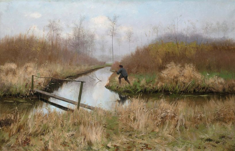 Die Jagd, Emile Claus von Meesterlijcke Meesters