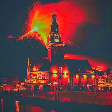 Eruption des Katzenbergs von Don Philippo
