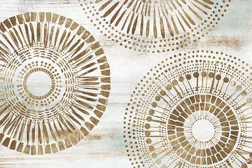 Golden Circus II, Isabelle Z  van PI Creative Art