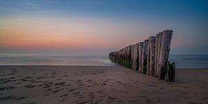 Golfbrekers aan de Zeeuwse kust