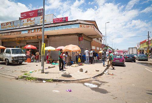 Soweto Straßenszene
