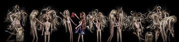 Barbie orgie van Liberty Ragazza Biesma