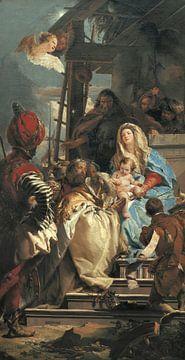 Giambattista Tiepolo, Die Anbetung des Erzmagiers, 1753 von Atelier Liesjes