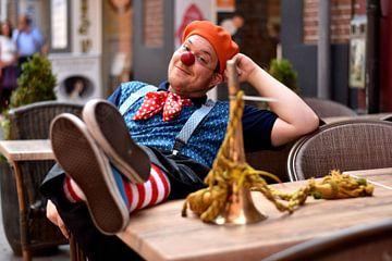 Portret van een Clown (1 van 3) von Ima Rhebok