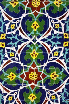 Tegelwerk uit Oezbekistan van Yvonne Smits