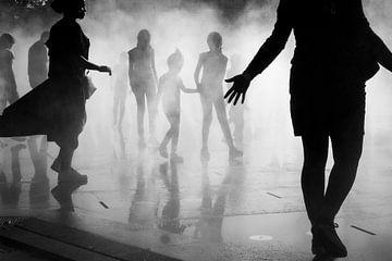 Im Nebel, Paris von Jeroen Knippenberg