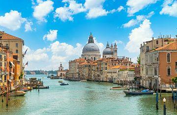 Grand Canal de Venise sur Ivo de Rooij