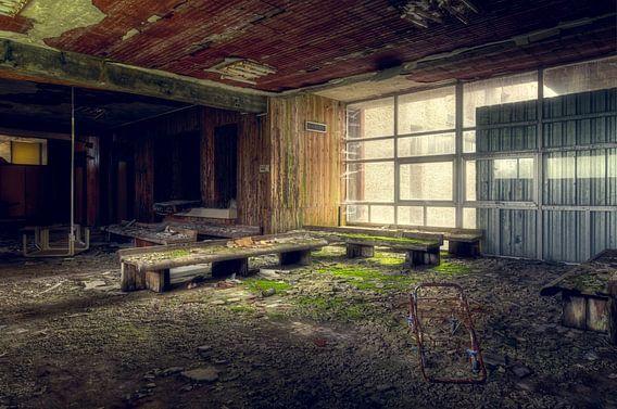 Verlaten Wachtkamer van Roman Robroek