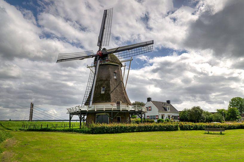 D'Olde Zwarver Kampen op een zomermiddag van Fotografie Ronald