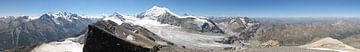 Switzerland Glacier Panorama van Christian Moosmüller