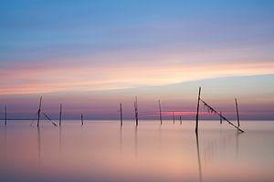 Rockanje zonsondergang van