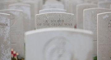 Stille herdenking aan de grote oorlog van