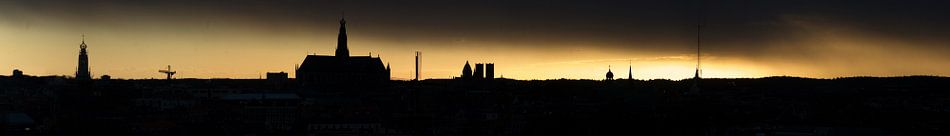 Panorama skyline Haarlem