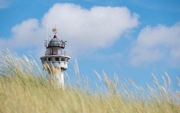 Vuurtoren J.C.J. van Speijk - Egmond aan Zee van Gerda Hoogerwerf