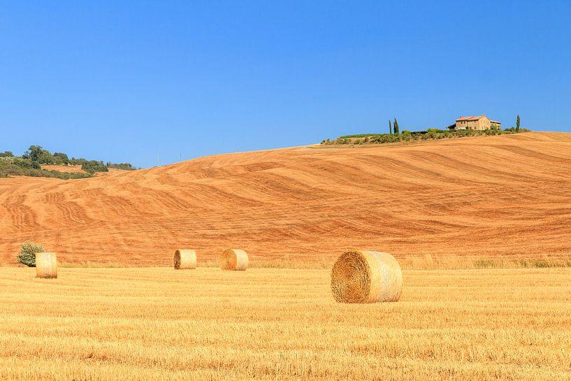 Toscaans landschap van Dennis van de Water