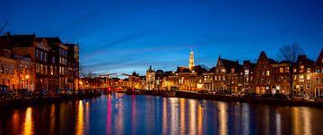 Panorama van het Spaarne in Haarlem - Maart 01