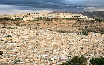 Fes, de koningsstad, Marokko van
