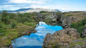 Pingvellir Nationaal Park in IJsland