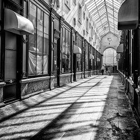 Het Glazen Straatje in Gent(B) van Don Fonzarelli