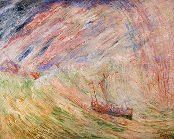 James Ensor. Christus brengt de zee tot rust