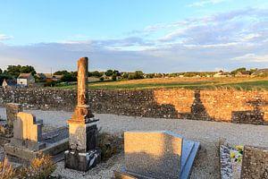 Kerkhof in Normandië