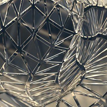 Glass Triangles van Jörg Hausmann