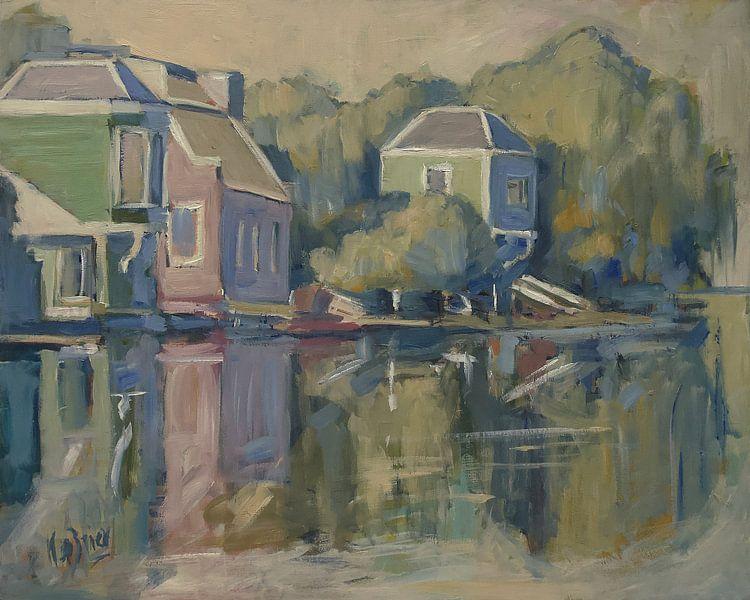 Lufthaus von Claude Monet von Nop Briex