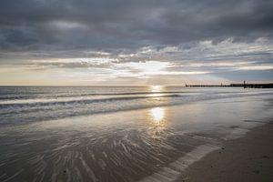 Sonnenuntergang von Marian van der Kallen Fotografie