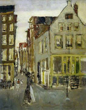 De Lauriergracht bij de Tweede Laurierdwarsstraat, George Hendrik Breitner sur