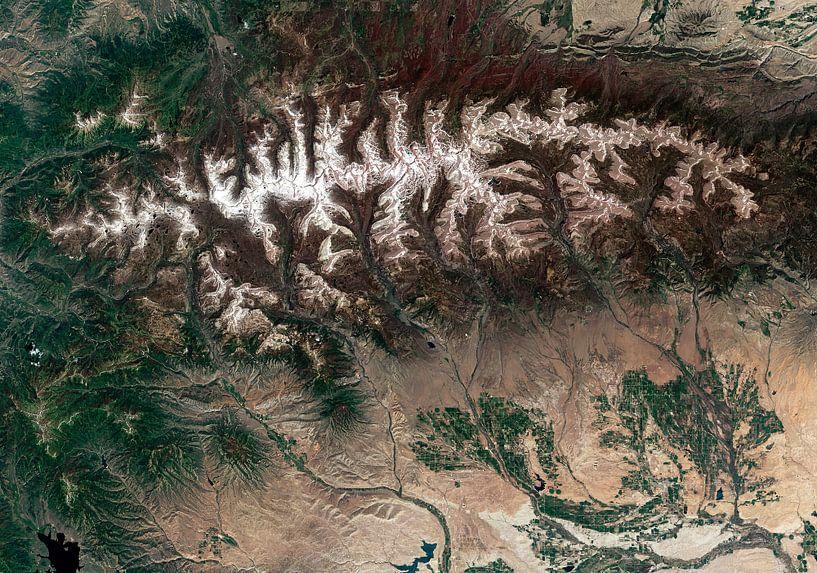 Uinta Mountains, Utah van Rebel Ontwerp