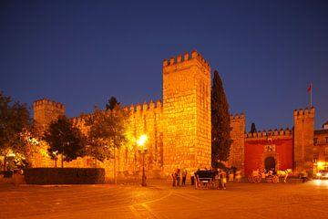 Sevilla : Das Loewentor vom Alcazar