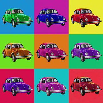 9  Volkswagen popart van Joost Hogervorst