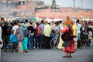 Djemaa el Fna - Marrakesh van Lars Scheve