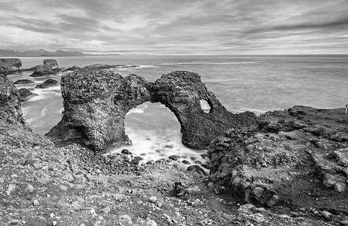 Arnastapi IJsland van
