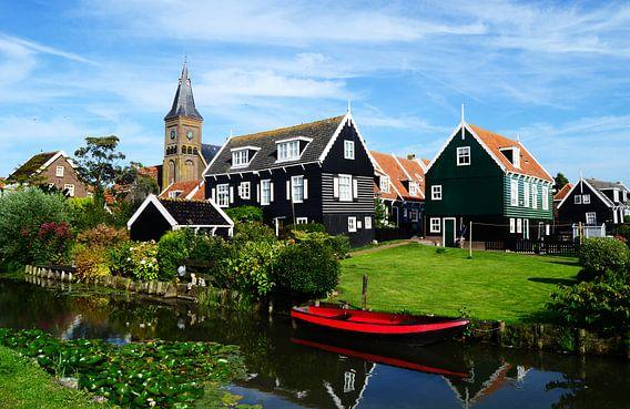 Hollands landschap in Marken van Daphne Groeneveld