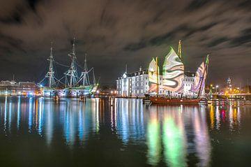 VOC-schip De Amsterdam van Marc Hollenberg