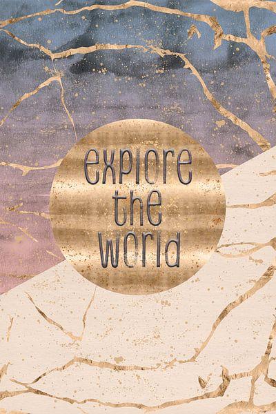 GRAPHIC ART Explore the world van Melanie Viola