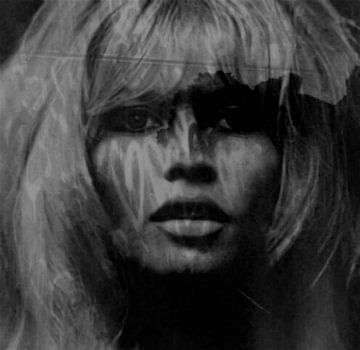 Brigitte Bardot Love - 24 Colours -. Grey Black - Game von Felix von Altersheim