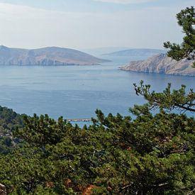 Bucht bei Baska - Kroatien von Babetts Bildergalerie