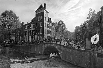 Amsterdamer Prinsengracht-Frühling von Marianna Pobedimova