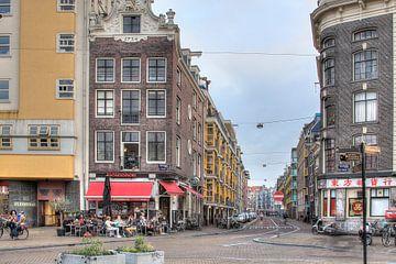 Amsterdam, Nieuwmarkt, Sint Antoniebreestraat van Tony Unitly