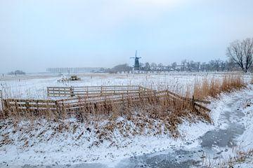 Hollands winterlandschap von Moetwil en van Dijk - Fotografie