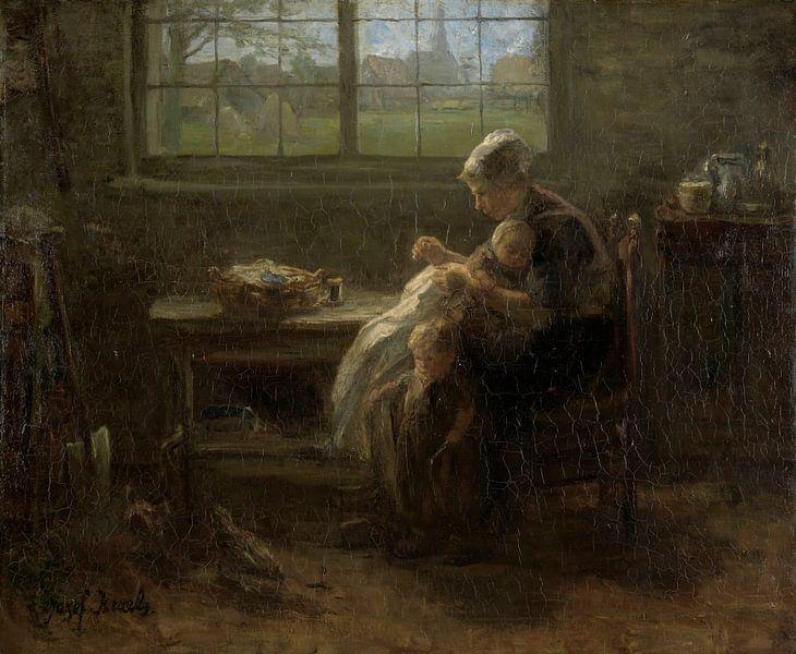 The Joy of Motherhood, Jozef Israëls von Meesterlijcke Meesters