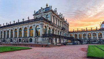 Zwinger Dresden Porseleinpaveljoen van