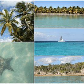 Caraïbische reizen fotocollage van Christine aka stine1