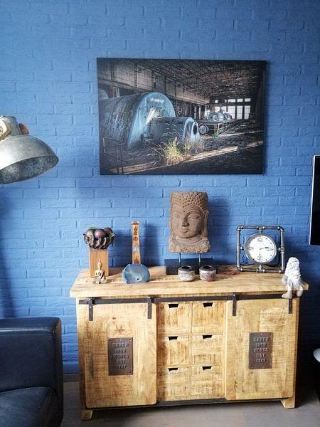 Photo de nos clients: Centrale électrique abandonnée 2 (Urbex) sur Eus Driessen, sur toile