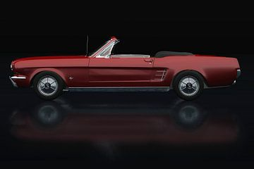 Ford Mustang Cabriolet Zijaanzicht