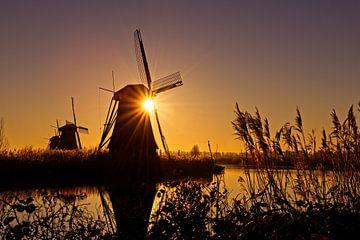 Kinderdijk molens van Dirk-Jan Steehouwer