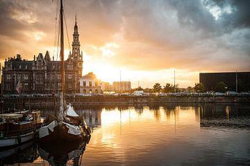 Pilot im Willemdok in Antwerpen von Geert D