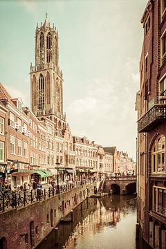 Utrechtse Domtoren in Lomo van Koen Peters